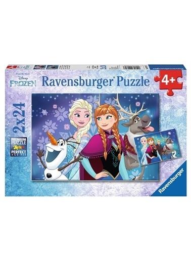 Ravensburger Puzzle 2-24 Parça Wd-Frozen 90747 Renkli